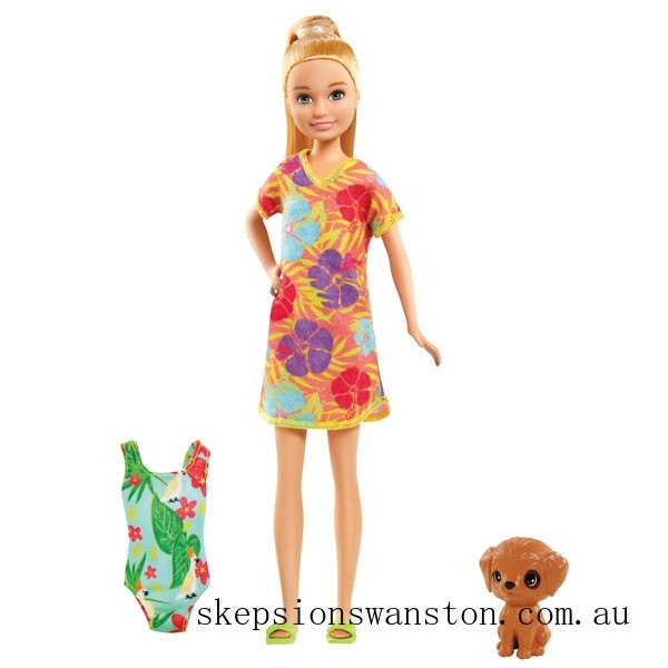 Clearance Barbie and Chelsea The Lost Birthday - Stacie Doll and Accessories