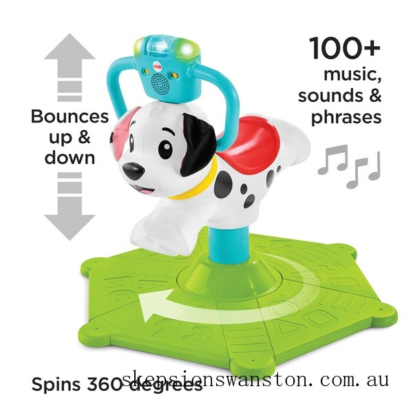 Hot Sale Fisher-Price Bounce and Spin Puppy Ride On
