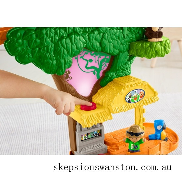 Outlet Sale Fisher-Price Little People Share & Care Safari Playset