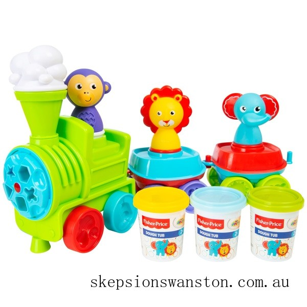 Clearance Fisher-Price Let's Dough Train