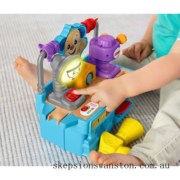 Hot Sale Fisher-Price Laugh & Learn Busy Learning Tool Bench