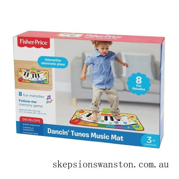 Clearance Fisher-Price Dancin'Tunes Music Mat