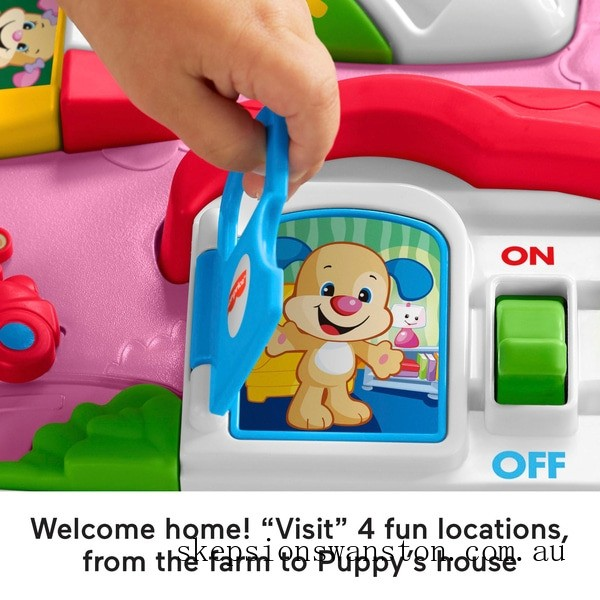 Discounted Fisher-Price Laugh & Learn Around the Town Learning Table