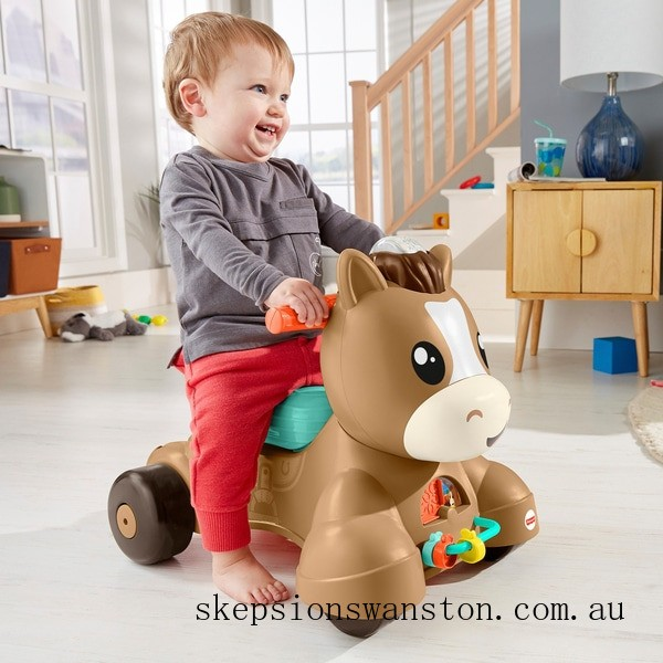 Genuine Fisher-Price Walk, Bounce and Ride Pony