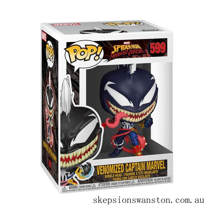 Marvel Venom Captain Marvel Funko Pop! Vinyl Clearance Sale