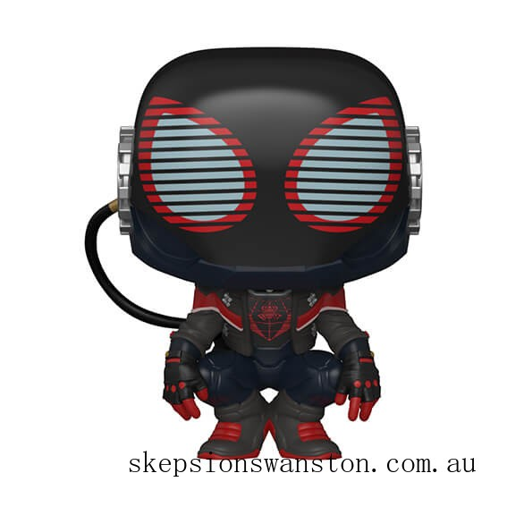 Marvel Spiderman Miles Morales 2020 Suit Pop! Vinyl Clearance Sale