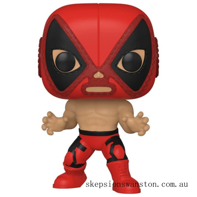 Marvel Luchadores Deadpool Pop! Vinyl Clearance Sale