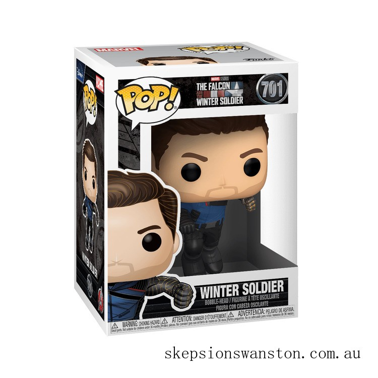 Marvel The Falcon and the Winter Soldier Winter Soldier Funko Pop! Vinyl Clearance Sale