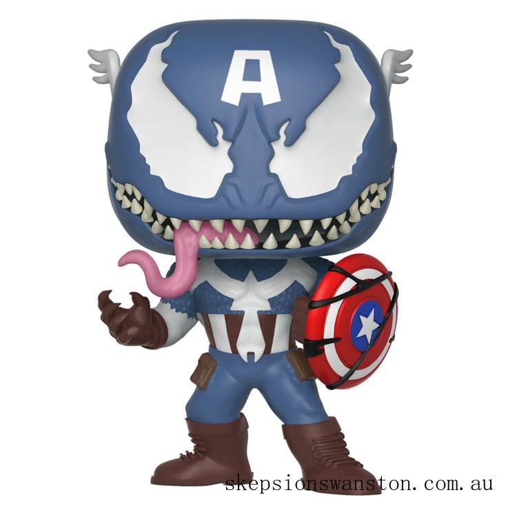 Marvel Venomized Captain America Funko Pop! Vinyl Clearance Sale