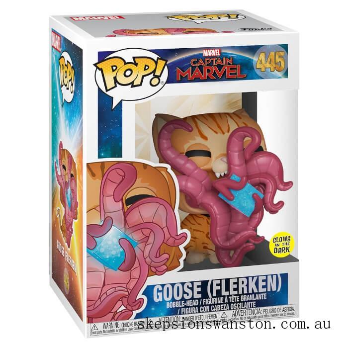 Marvel Captain Marvel Goose Flerken Funko Pop! Vinyl Clearance Sale