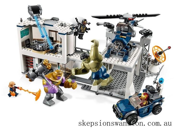 Outlet Sale Lego Avengers Compound Battle