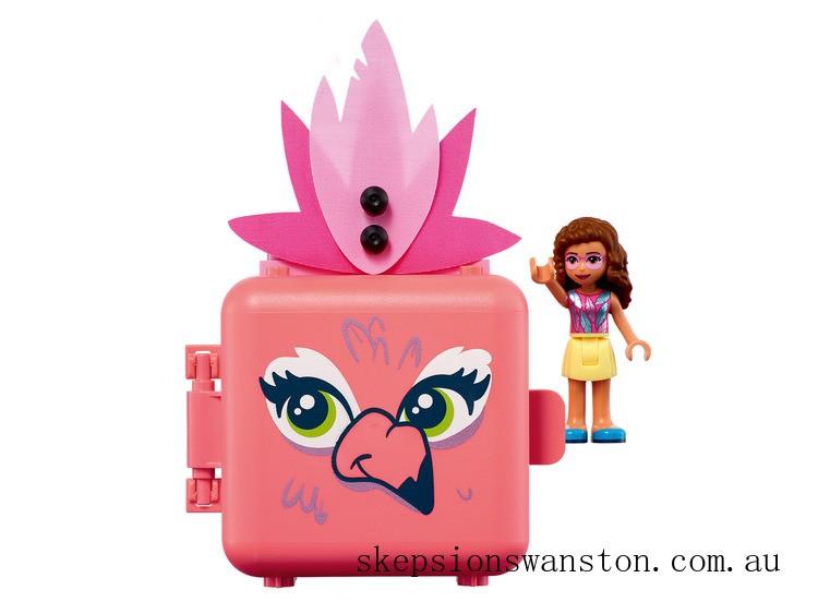 Hot Sale Lego Olivia's Flamingo Cube