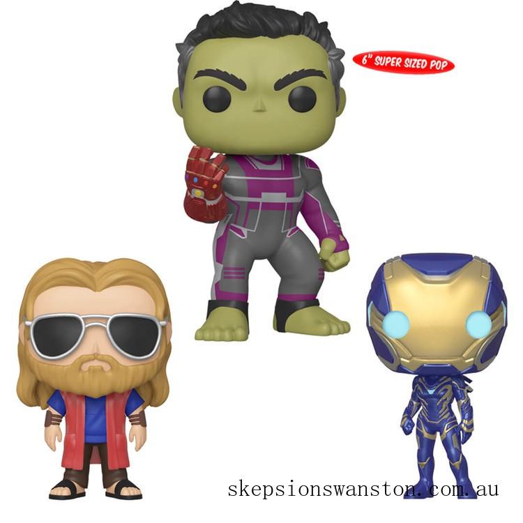 Marvel Avengers: Endgame Wave 2 Funko Pop! Vinyl - Funko Pop! Collection Clearance Sale