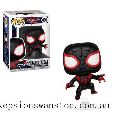 Marvel Spider-Man into the Spiderverse Spider-Man Miles Funko Pop! Vinyl Clearance Sale