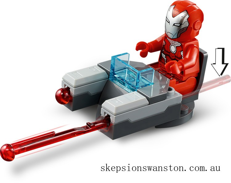 Clearance Lego Iron Man Hulkbuster versus A.I.M. Agent